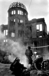 Picture of post-bombing Hiroshima taken by Kikujiro Fukushima
